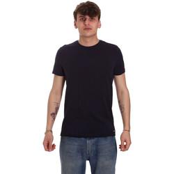 Oblačila Moški Majice s kratkimi rokavi Gaudi 011BU64093 Modra