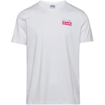 Oblačila Moški Majice s kratkimi rokavi Diadora 502175837 Biely
