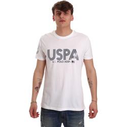 Oblačila Moški Majice s kratkimi rokavi U.S Polo Assn. 57197 49351 Biely