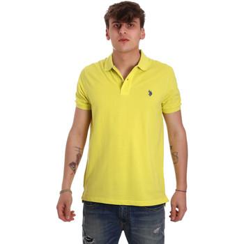 Oblačila Moški Polo majice kratki rokavi U.S Polo Assn. 55957 41029 Rumena