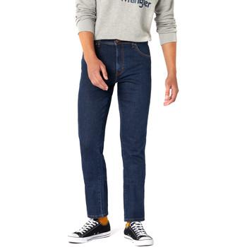 Oblačila Moški Jeans Wrangler W12S8311U Modra