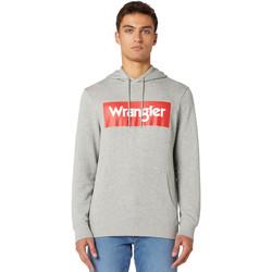 Oblačila Moški Puloverji Wrangler W6B9HAX37 Siva