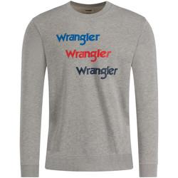 Oblačila Moški Puloverji Wrangler W6A5HAX37 Siva