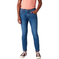 Oblačila Moški Kavbojke slim Wrangler W14XT112E Modra