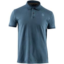 Oblačila Moški Polo majice kratki rokavi Lumberjack CM45940 007 516 Modra