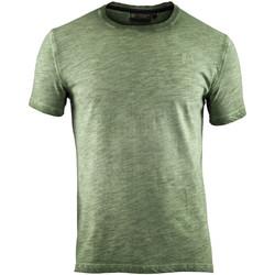 Oblačila Moški Majice s kratkimi rokavi Lumberjack CM60343 004 517 Zelena