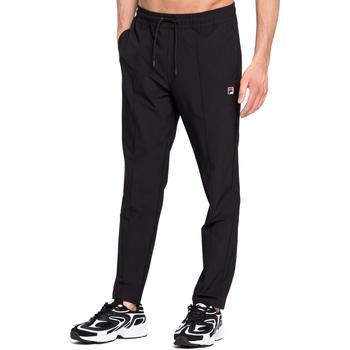 Oblačila Moški Spodnji deli trenirke  Fila 687711 Črna
