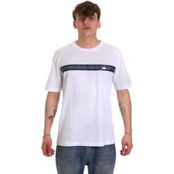 Oblačila Moški Majice s kratkimi rokavi Antony Morato MMKS01686 FA100144 Biely