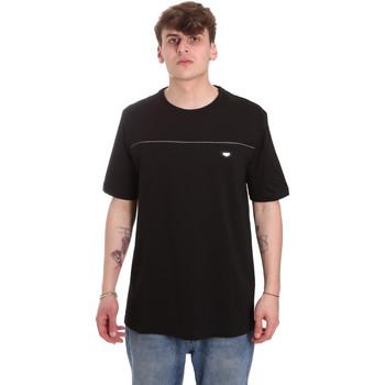 Oblačila Moški Majice s kratkimi rokavi Antony Morato MMKS01696 FA100144 Črna