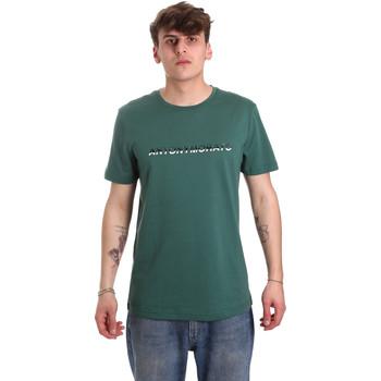 Oblačila Moški Majice s kratkimi rokavi Antony Morato MMKS01754 FA100144 Zelena