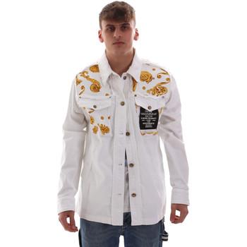 Oblačila Moški Jakne Versace C1GVB92GHRC33003 Biely