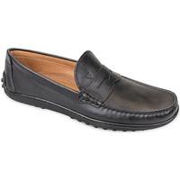 Čevlji  Moški Mokasini Valleverde 11840 Črna