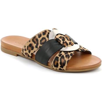 Čevlji  Ženske Natikači Grunland CI2855 Črna