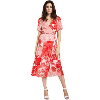 Oblačila Ženske Kratke obleke Gaudi 011FD15014 Rdeča