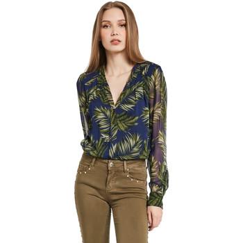 Oblačila Ženske Srajce & Bluze Gaudi 011BD45018 Modra