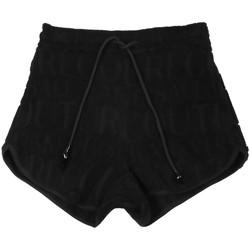 Oblačila Ženske Kratke hlače & Bermuda Versace A3HVB18513967899 Črna