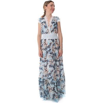 Oblačila Ženske Dolge obleke Fracomina FR20SP432 Modra