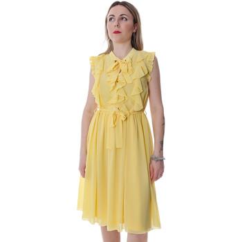 Oblačila Ženske Kratke obleke Fracomina FR20SP536 Rumena