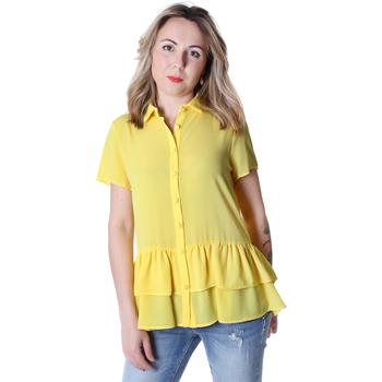Oblačila Ženske Srajce & Bluze Fracomina FR20SP039 Rumena