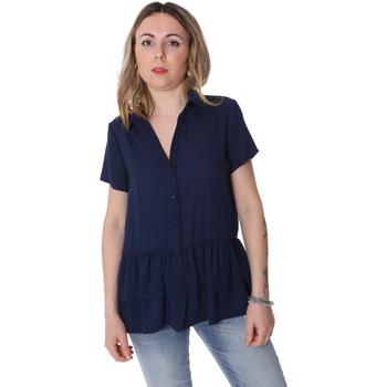 Oblačila Ženske Srajce & Bluze Fracomina FR20SP039 Modra