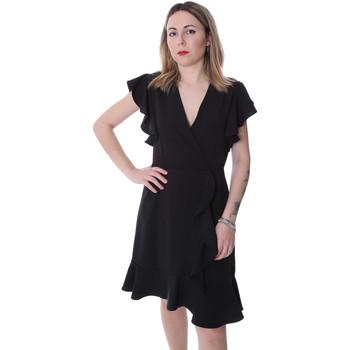 Oblačila Ženske Kratke obleke Fracomina FR20SP051 Črna