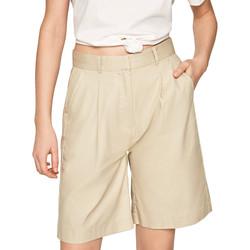 Oblačila Ženske Kratke hlače & Bermuda Pepe jeans PL800886 Bež