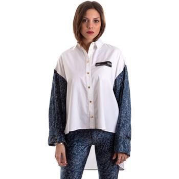 Oblačila Ženske Srajce & Bluze Versace B0HVB606S0683904 Biely