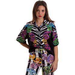 Oblačila Ženske Srajce & Bluze Versace B0HVB604S0793983 Črna