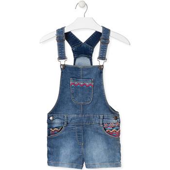 Oblačila Otroci Kombinezoni Losan 014-6017AL Modra