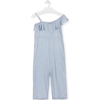 Oblačila Deklice Kombinezoni Losan 014-7022AL Modra