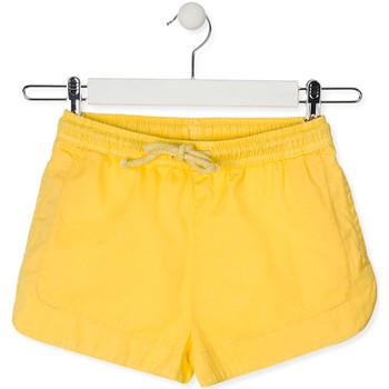 Oblačila Otroci Kratke hlače & Bermuda Losan 014-9007AL Rumena