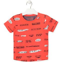 Oblačila Otroci Majice s kratkimi rokavi Losan 015-1003AL Oranžna
