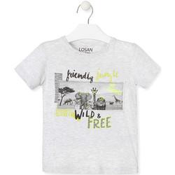 Oblačila Otroci Majice s kratkimi rokavi Losan 015-1010AL Siva