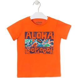 Oblačila Otroci Majice s kratkimi rokavi Losan 015-1025AL Oranžna