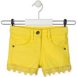 Oblačila Otroci Kratke hlače & Bermuda Losan 016-9001AL Rumena