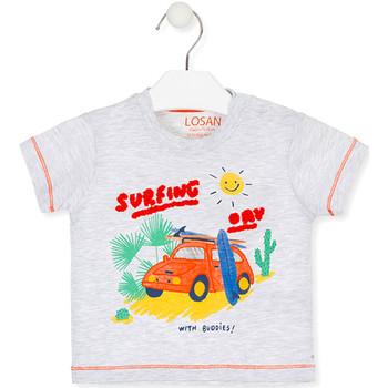 Oblačila Otroci Majice s kratkimi rokavi Losan 017-1015AL Siva