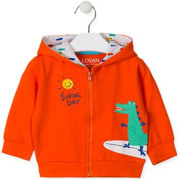 Oblačila Otroci Puloverji Losan 017-6026AL Oranžna