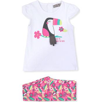 Oblačila Otroci Obleke in kravate Losan 018-8006AL Biely