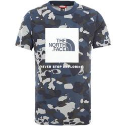 Oblačila Otroci Majice s kratkimi rokavi The North Face NF0A3BS2M7Z1 Modra