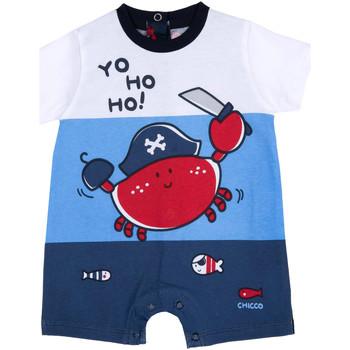 Oblačila Dečki Kombinezoni Chicco 09050813000000 Modra