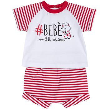 Oblačila Dečki Otroški kompleti Chicco 09076364000000 Biely