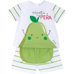 Oblačila Otroci Otroški kompleti Chicco 09076381000000 Biely
