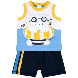 Oblačila Dečki Otroški kompleti Chicco 09076376000000 Modra