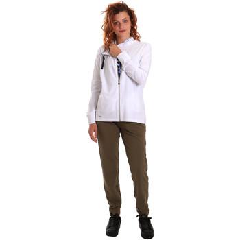 Oblačila Ženske Trenirka komplet Key Up 5G40T 0001 Biely