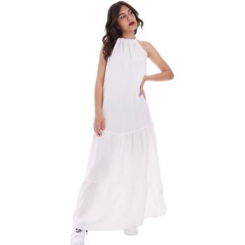 Oblačila Ženske Dolge obleke Gaudi 011FD15073 Biely