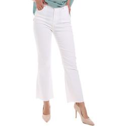 Oblačila Ženske Kavbojke bootcut Gaudi 011BD25017 Biely