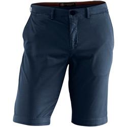 Oblačila Moški Kratke hlače & Bermuda Lumberjack CM80647 002 602 Modra