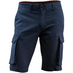 Oblačila Moški Kratke hlače & Bermuda Lumberjack CM80747 002 602 Modra