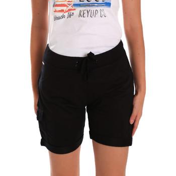 Oblačila Ženske Kratke hlače & Bermuda Key Up 5G75F 0001 Črna
