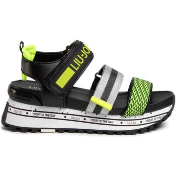 Čevlji  Ženske Sandali & Odprti čevlji Liu Jo BXX069TX116 Črna